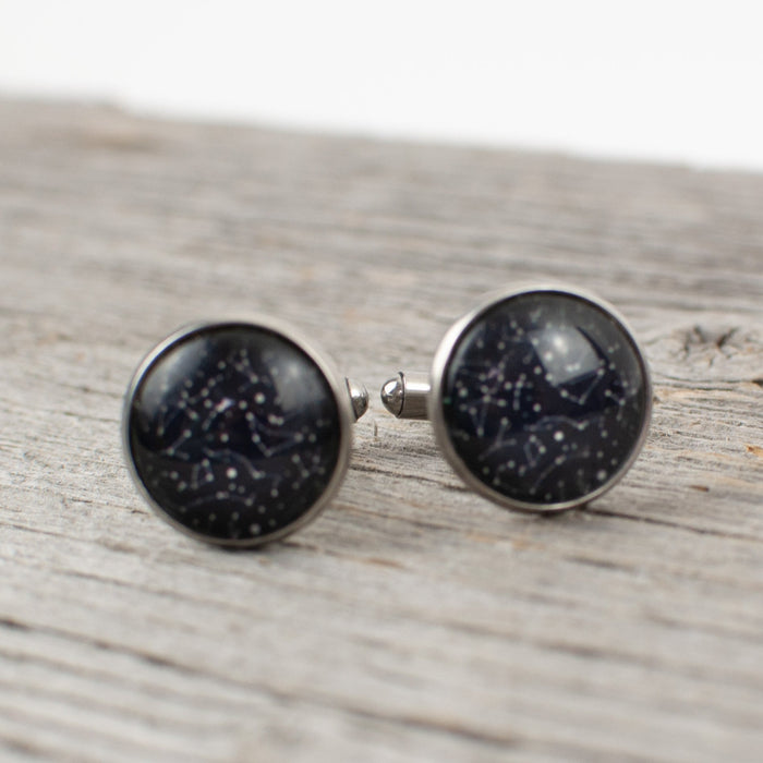 Constellation Cuff links - Artfest Ontario - Lisa Young Design - Cuff Links