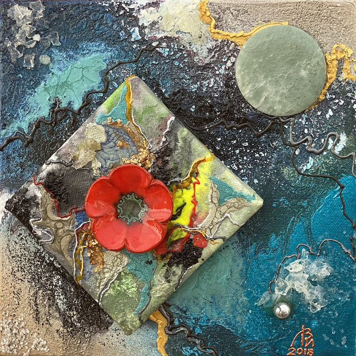 Constellation of Red Poppy - Artfest Ontario - Vladimir Lopatin - Paintings -Artwork - Sculpture