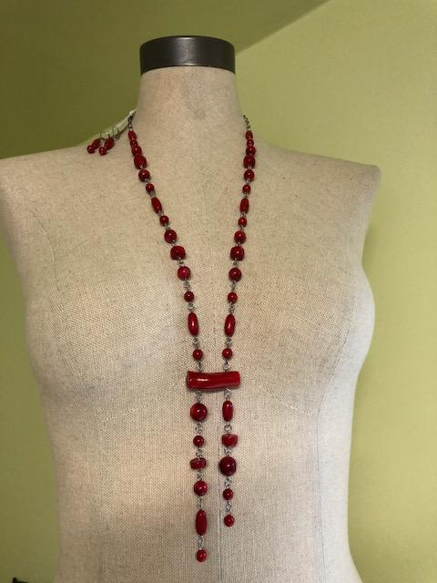 Coral Necklace & Earrings - Artfest Ontario - Creations GDC -