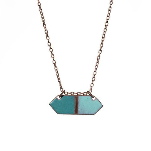 Crystal in Teal & Aqua - Artfest Ontario - Aflame Creations Jewelry -