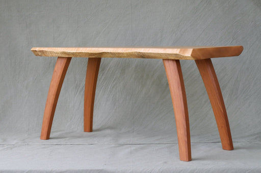 Curly Maple Bench - Artfest Ontario - Merganzer Furniture - Furniture & Houseware