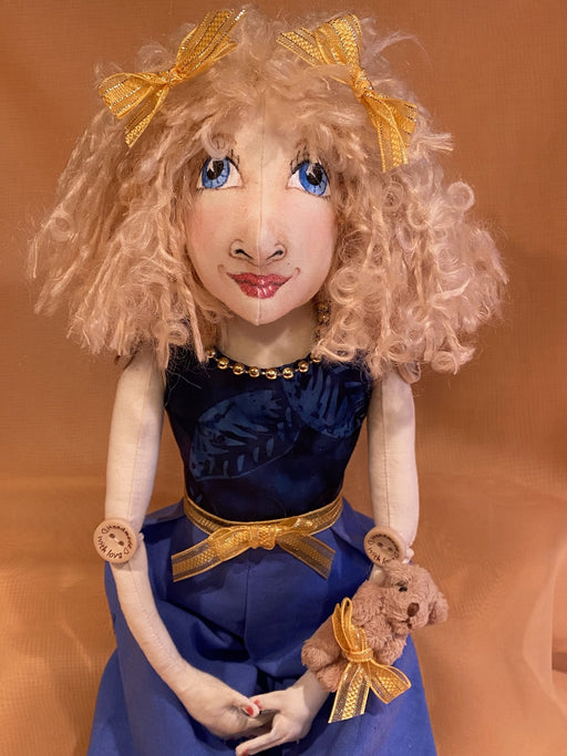 Deborah Art Doll - Artfest Ontario - Tamara's Treasured Shop - Home Decor