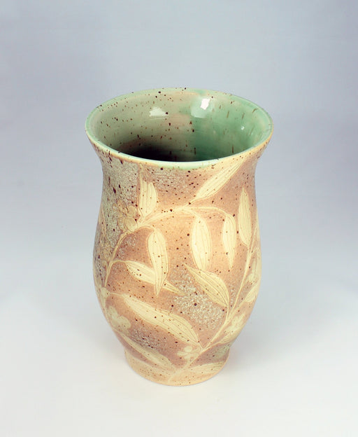 Decorative Speck Vase - Artfest Ontario - One rock pottery - Vases