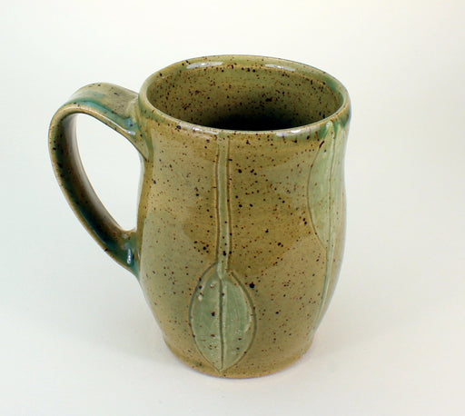 Deep Sage Green Mug - Artfest Ontario - One Rock Pottery - Mugs