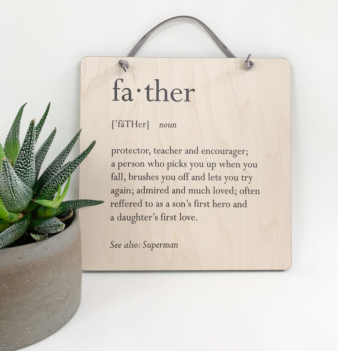 Definition of Father - Artfest Ontario - Urban Nest Decor - Father's Day