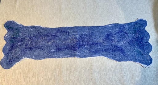 Denim blue table runner - Artfest Ontario - Love to Felt Artwear - Clothing & Accessories
