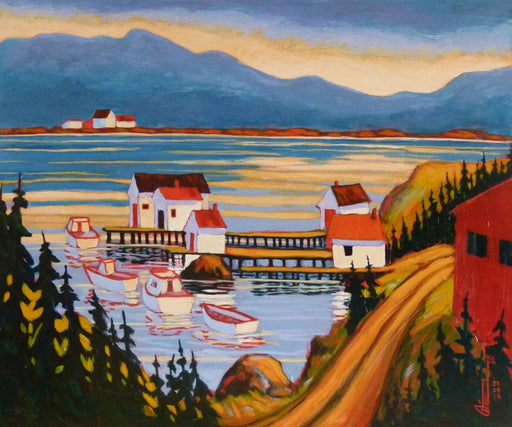 Diamond Cove, Newfoundland - Artfest Ontario - Gilles Côté - Paintings -Artwork - Sculpture