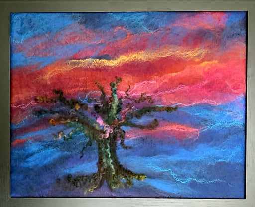 Distant Sky - Artfest Ontario - Love to Felt Artwear - Clothing & Accessories