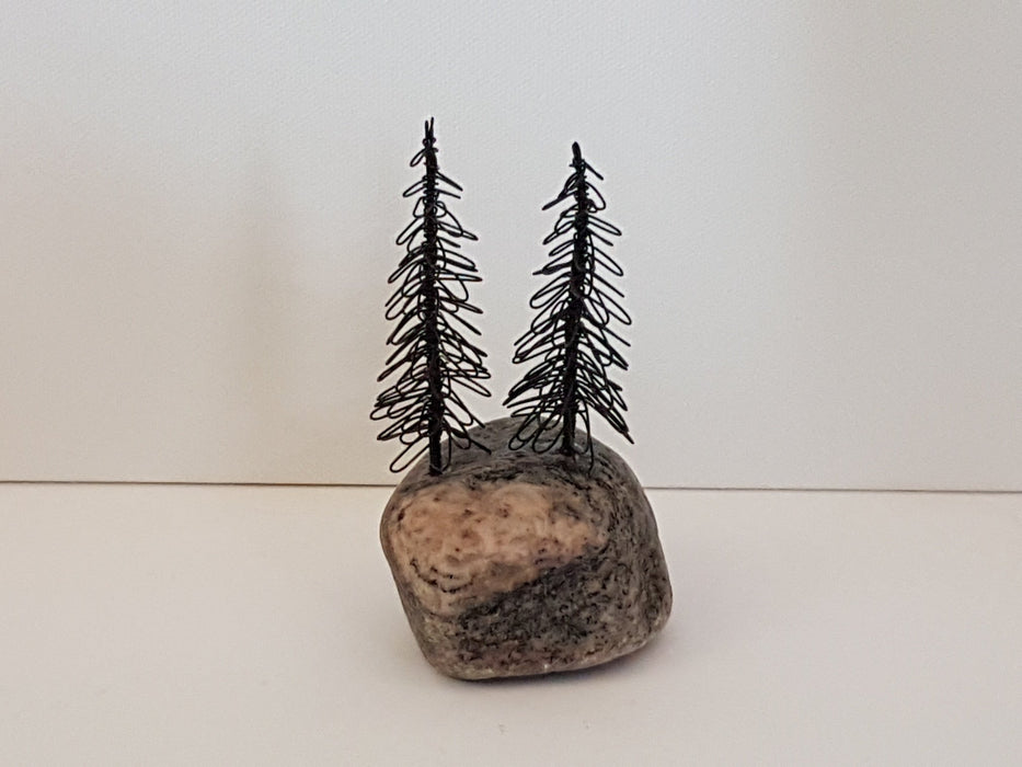 Double Mini Conifer - Artfest Ontario - Inspired from Within - Paintings, Artwork & Sculpture