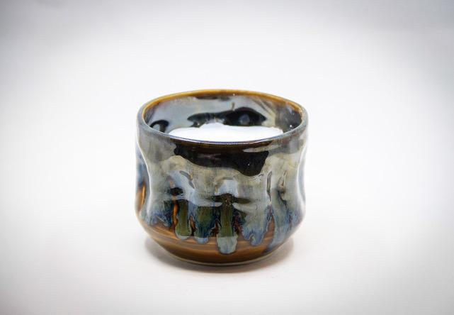 Dragon's Fire Candle Holder - Artfest Ontario - LAF Pottery Productions - Pottery