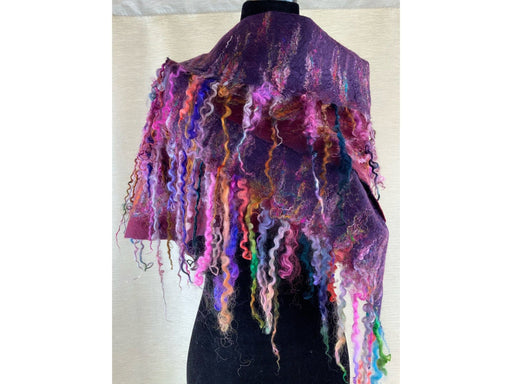 Dramatically Wooly - Artfest Ontario - Love to Felt Artwear - Clothing & Accessories