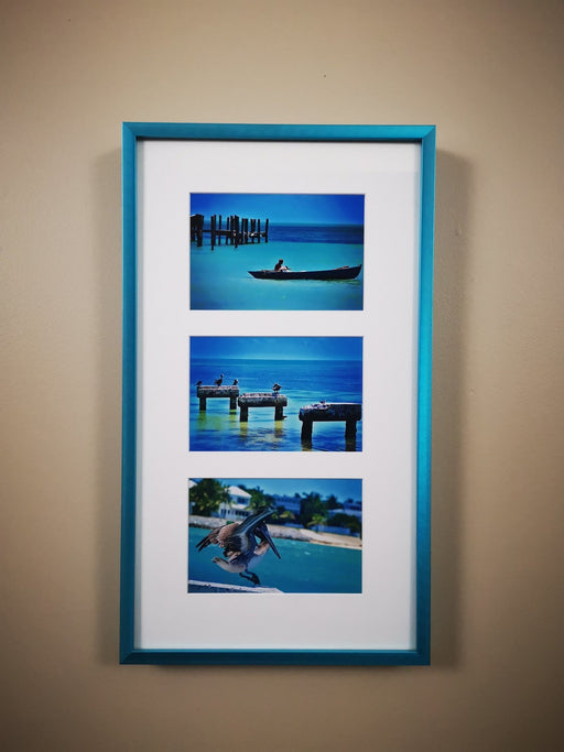 Electric Blue Triptych - Artfest Ontario - Loretta Meyer Fine Art Photography - Photographic Art