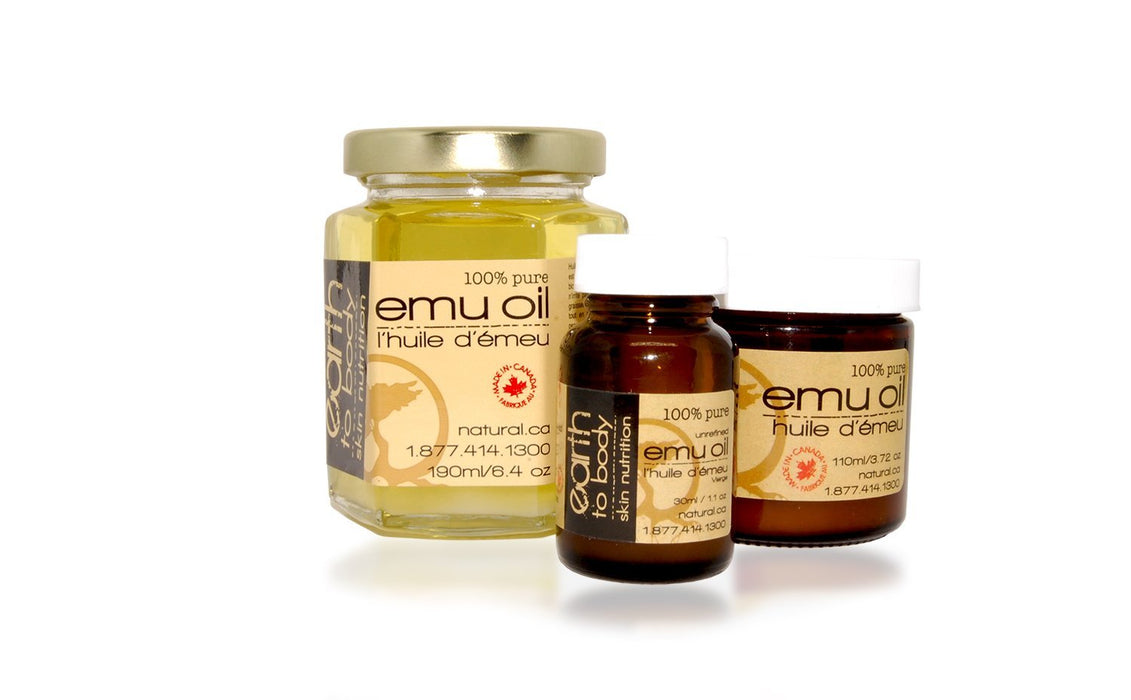 Emu Oil - Artfest Ontario - Earth to Body - Body Care