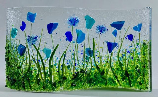"English Garden Glass Wave  8"" x 12"" - Artfest Ontario"