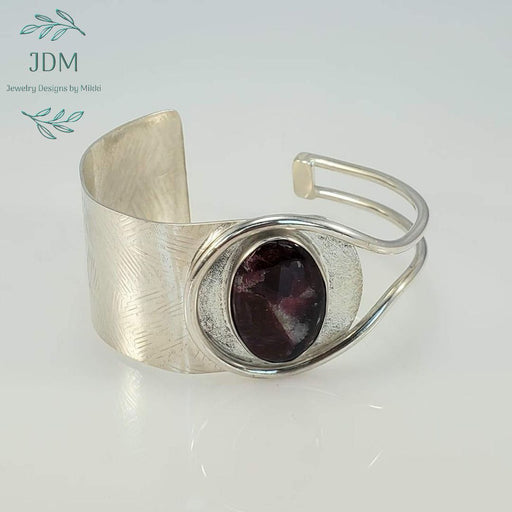 Eudialyte Cuff -JDM Jewelry Designs by Mikki - Artfest Ontario - JDM - Jewelry Designs by Mikki - Jewelry & Accessories