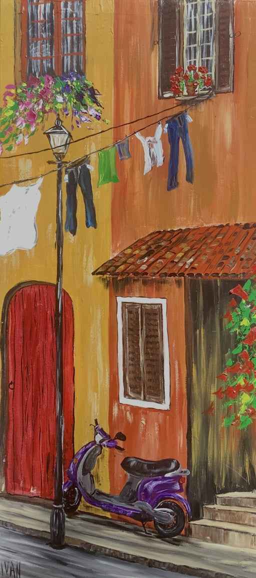 Everyday Italy - Artfest Ontario - Art by Ivan - Painting