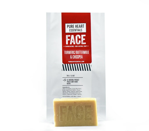 FACE – TUMERIC/BUTTERMILK/CHICKPEA FLOUR, AYURVEDIC FACIAL CARE - Artfest Ontario - Pure Heart Essentials - face