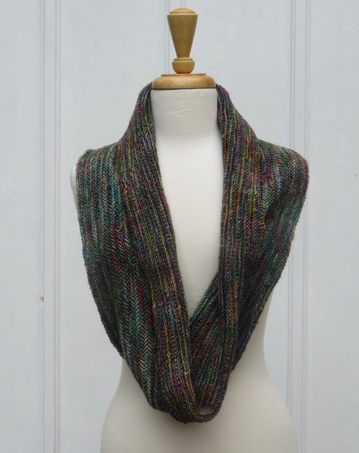 Fall Neck Wrap Dark Varigated Green - Artfest Ontario - Carolyn M. Barnett Designs - Clothing & Accessories