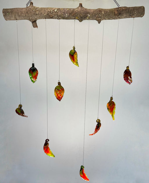 Falling Leaves #1 - Artfest Ontario - Fire & Flame Glassworks - Glass Work