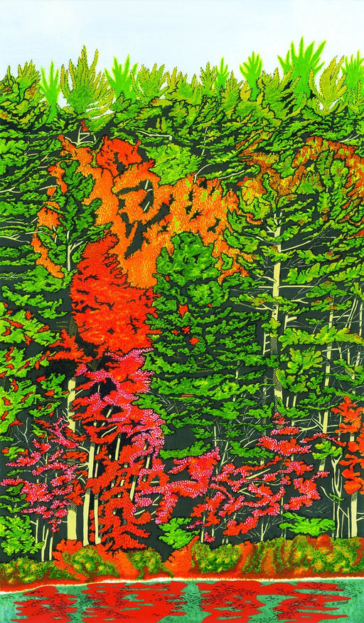Falls Paintbrush - Artfest Ontario - Inspirational Artistry Steve Rose Artist - Paintings -Artwork - Sculpture