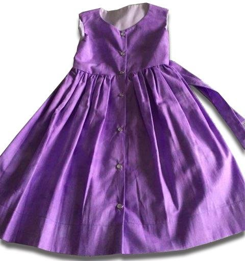 Fancy Purple Summer Dress - Artfest Ontario - Muffin Mouse Creations - Clothing & Accessories