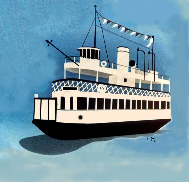 Ferry Boat - Artfest Ontario - Lory MacDonald - Paintings, Artwork & Sculpture