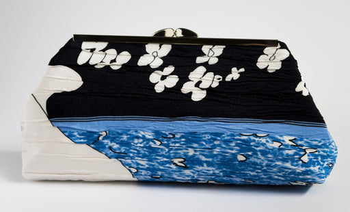 Fisher Woman Clutch (Blue Night) - Artfest Ontario - Inunoo - Clutches