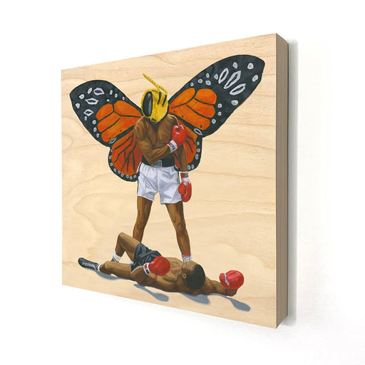 Float Like A Butterfly, Sting Like A Bee - Tony Taylor Art - Artfest Ontario - Tony Taylor Art - Paintings -Artwork - Sculpture