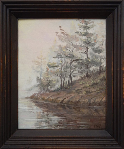 Foggy River - Artfest Ontario - Olena Lopatina - Paintings