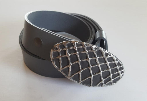 Forged Fish Net Buckle Belt & Buckle Set - Artfest Ontario - Iron Art - Clothing & Accessories