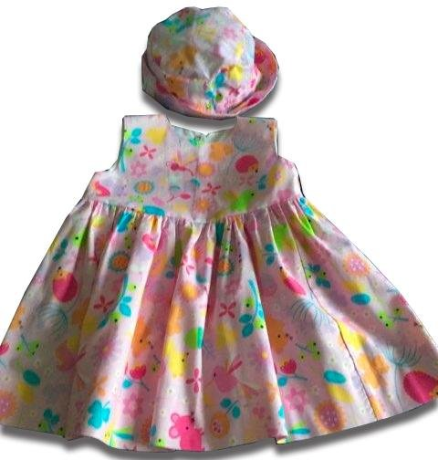 Garden Delight Summer Dress - Artfest Ontario - Muffin Mouse Creations - Clothing & Accessories