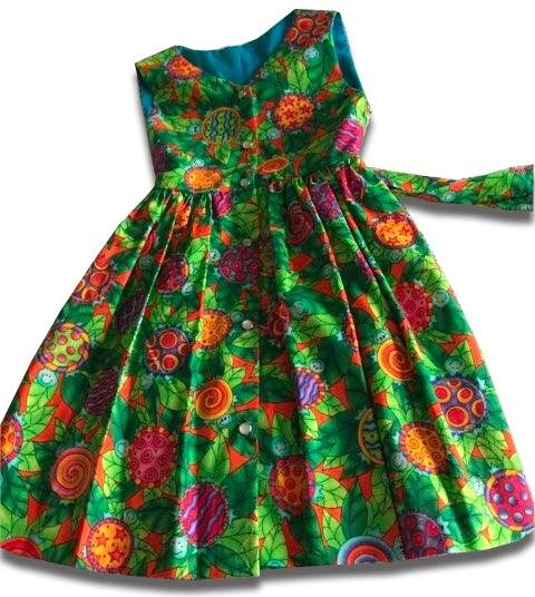 Garden Power Summer Dress - Artfest Ontario - Muffin Mouse Creations - Clothing & Accessories