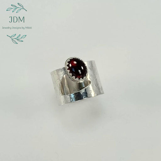 Garnet Ring -JDM Jewelry Designs by Mikki - Artfest Ontario - JDM - Jewelry Designs by Mikki - Jewelry & Accessories