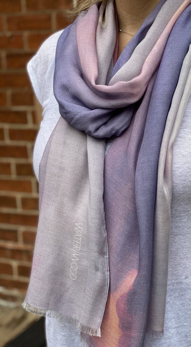 Georgian Bay Skies - Artfest Ontario - Water Wood Style - Modal/Cashmere Wrap