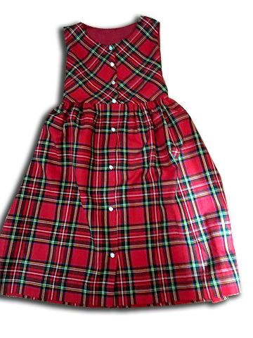Girls Jumper- Royal Stewart Tartan Plaid - Artfest Ontario - Muffin Mouse Creations - Clothing & Accessories