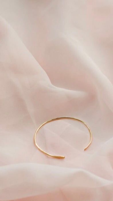 Gold Clara Bangle - Artfest Ontario - Savannah Jones Jewellery - Jewelry & Accessories
