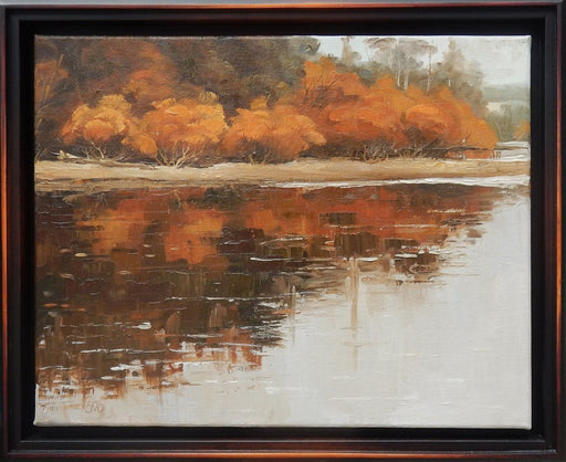 Golden Reflection - Artfest Ontario - Olena Lopatina - Paintings