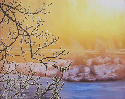 Golden Sunrise - Artfest Ontario - Olena Lopatina - Paintings