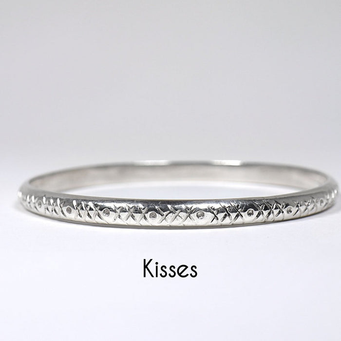 Heavy Cake Solid Sterling Silver Bangle - Artfest Ontario - Devine Fine Jewellery - Bracelet/ Bangle