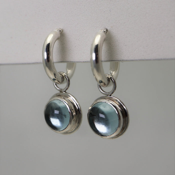 Heidi - Sky Blue Topaz - Artfest Ontario - Devine Fine Jewellery - Earrings