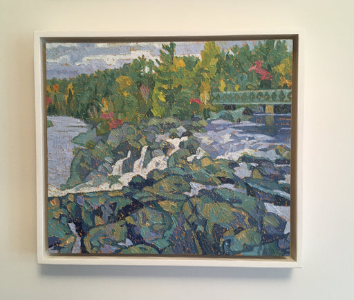 High Falls, Bracebridge - Artfest Ontario - Jesse Unsworth - Paintings -Artwork - Sculpture