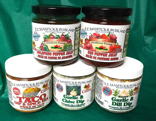 Holiday Entertaining Gift Pack - Artfest Ontario - Manitoulin Gourmet / Hawberry Farms -