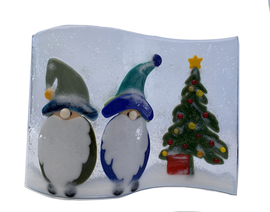 Holiday Glass Art - Artfest Ontario - Out of Ruins - Glass Art