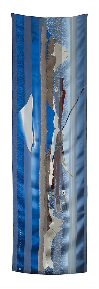 Ice Float Rectangular Scarf (Ice) - Artfest Ontario - Inunoo - Rectangular Scarves