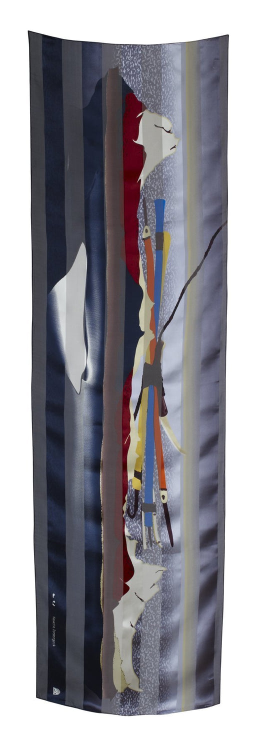 Ice Float Rectangular Scarf (Twilight) - Artfest Ontario - Inunoo - Rectangular Scarves