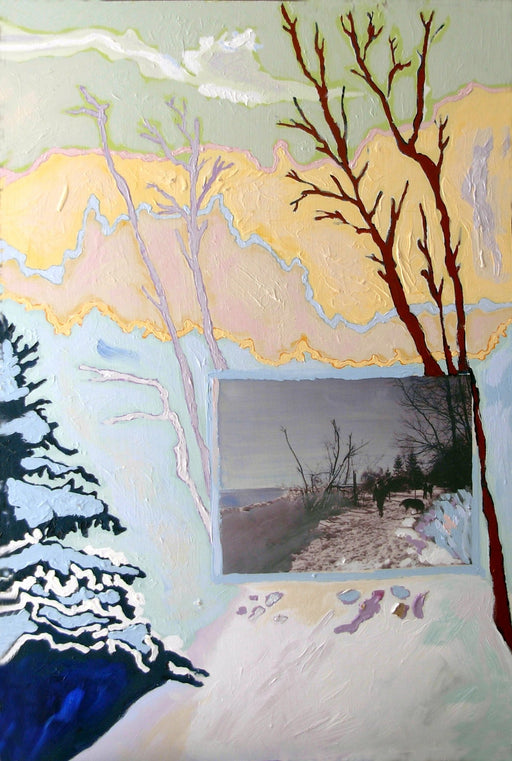 Ice Storm Boardwalk - Artfest Ontario - Lory MacDonald - Paintings, Artwork & Sculpture