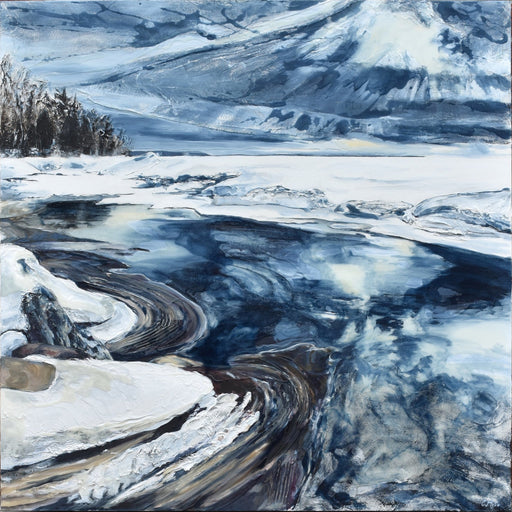 Icescape IX, 2019 - Artfest Ontario - Celina Melo - Paintings, Artwork & Sculpture