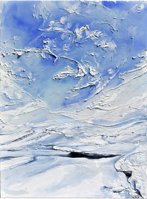 Icescape VIII (Winter' Breath), 2019 - Artfest Ontario - Celina Melo - Paintings, Artwork & Sculpture