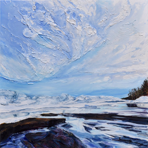 Icescape XI, 2020 - Artfest Ontario - Celina Melo - Paintings, Artwork & Sculpture