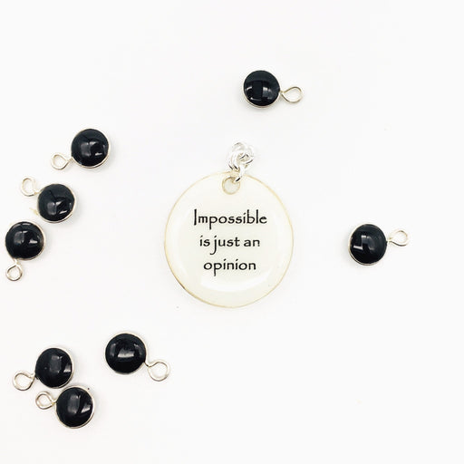 Impossible is just...Studio Degas - Artfest Ontario - Studio Degas - Jewelry & Accessories